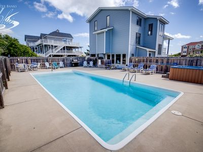 Photo for Judge's Chambers | 415 ft from the beach | Private Pool, Hot Tub