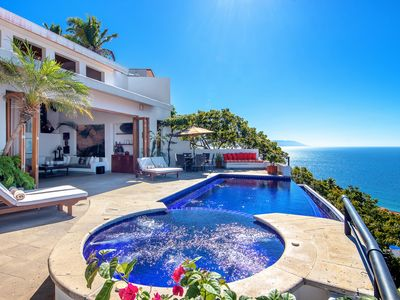 Photo for 7 Bedroom Villa Ventana - 11,000 Sq/Ft - Staff and Chef Included  - Walk to Town