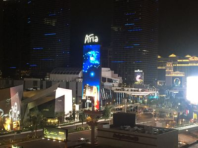 Photo for 2 Bd 2 Bath 2 Balcony Direct Strip View in the Heart of the Vegas Strip Sleeps 6