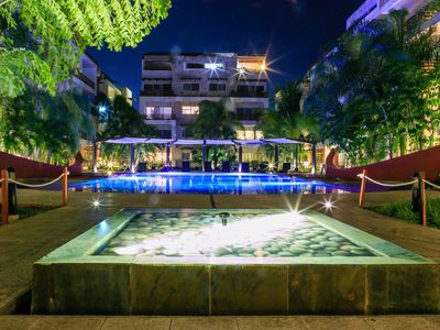 Photo for GORGEOUS APARTMENT WITH POOL VIEW- 1 BLOCK 5TH AVENUE PLAYA DEL CARMEN