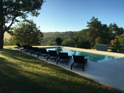 Photo for 18th Century Farmhouse In Rolling Dordogne Countryside, With Pool, In 11 Acres