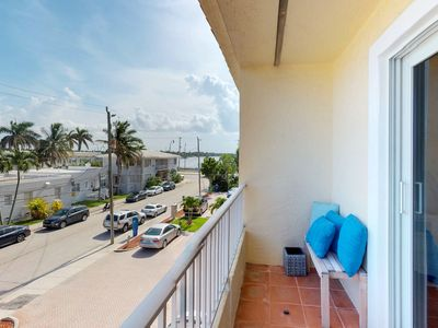 Photo for NEW LISTING! Oceanview condo near the beach, walk to the sand & free WiFi!