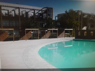 Photo for Apartment t2 with swimming pool in secure residence