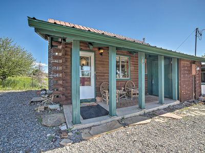 Photo for NEW! Rustic Blanding Cabin, 2 Miles to State Park!