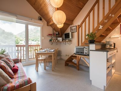 Photo for RENTAL APARTMENT SAINT LARY SOULAN / QUIET / 6 PEOPLE / TYPE 3 IN DUPLEX