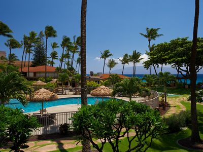 Photo for Oceanside Hawaiian Style Condo-  Adjacent to Pool and Beach