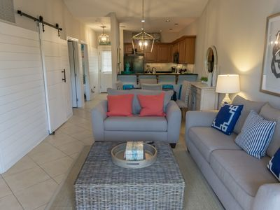 Photo for Incredible 2BR/2BA condo in a gated complex just north of 30A![