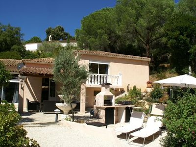 Photo for Comfortable villa with pool at a quiet residence and near the beach of Cavalaire