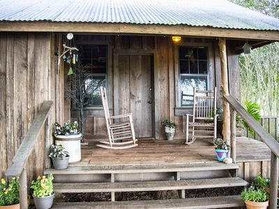 RELAX, UNWIND, REFRESH...TAKE a TRIP to the PAST in this CABIN built in 1865.