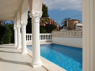 Photo for Very nice house Empuriabrava with swimming pool, wifI, near beach, 80m from commercial