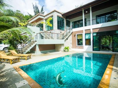 Photo for 8 bedrooms big villa with private pool into Phuket