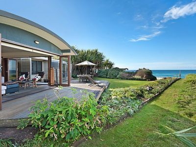 Photo for 18 Childe Street, Belongil Beach - Absolute Beach Front Pavillion