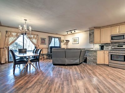 Photo for NEW! Luxury Townhome Mins to Mountain Creek Skiing