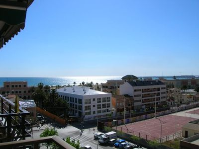 Photo for Apartment with terrace in Malvarrosa's beach