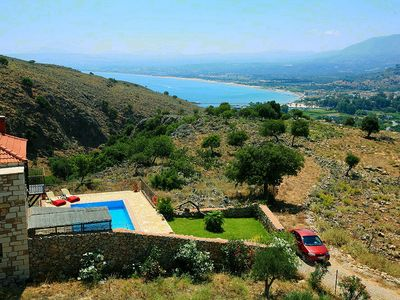 Photo for Private traditional villas with sea and mountain views 3km from sandy beach