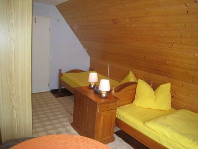 Photo for Double room 1 with two single beds - Ferienhaus Pape