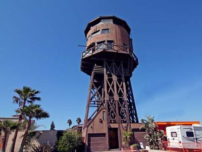 World Famous Sunset Beach Water tower on the Beach in Sunset Beach, Ca. Views !!