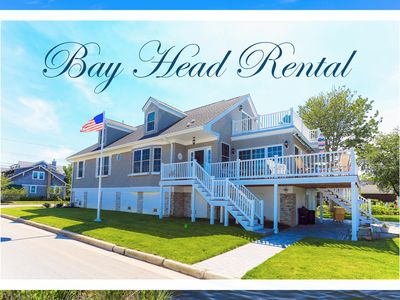 Photo for GORGEOUS lakefront 6 bed/3 bath beach house 4 blocks from beach