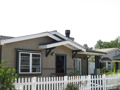Photo for STUNNING CRAFTSMAN BEACH BUNGALOW. IT HAS ALL YOU NEED AND A BLK. FROM BEACH.