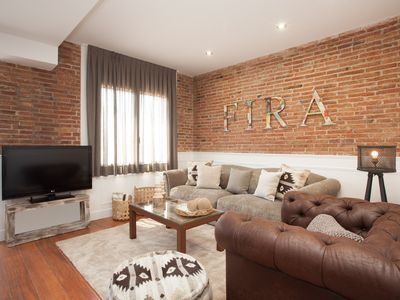Photo for Enjoybcn Apartments- Amplitude, 3 rooms ideal families. 10mn from the center
