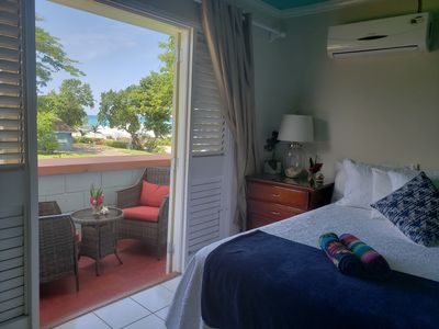 Photo for Ocean view, Wifi internet, Cable, housekeeping. Beautiful suite