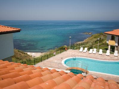 Photo for DOUBLE ROOM 3 in a quiet hotel with SEA VIEW
