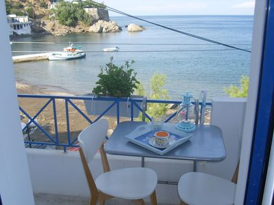 Photo for 'Alkistis' 1st Floor Apartment by the sea