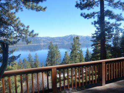 Photo for Lake view home ideal for family memories & all outdoor activities!