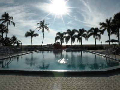 One of Largest Pools on the Beach