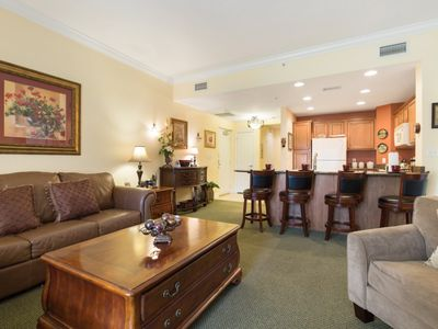 Photo for Orlando Condo in Reunion Resort, Golf and Pool Views!