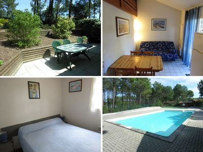 Photo for Between golf and ocean - residence with swiming pool