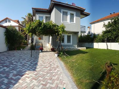 Photo for Private Villa Toprak in Quiet cul-de-sac Close to Town Centre with Private Pool