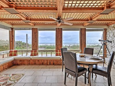 Photo for Beachfront Indialantic House w/ Furnished Patio!