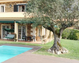 Cottage with private saltwater pool in Vilar de Mouros, Caminha