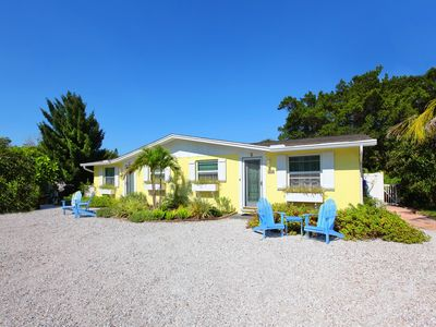 Photo for Angel Fish Cottage -  North End  - Steps to Gulf and Bay with Heated Pool-