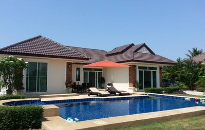 Photo for villa with pool in hua hin