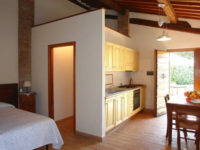 Photo for Apartment in Gambassi Terme with Parking, Internet, Washing machine, Air conditioning (50939)