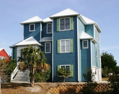Photo for Pet Friendly Oceanside Home, Private Pool, and Golf Cart