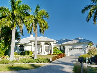 Photo for Waterfront house on key lot with heated pool, hot tub and unmatched views