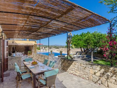 Photo for YourHouse Tordillo - Finca with pool in Maria de la Salut for 6 people