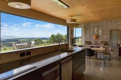 Check out the view while you prepare dinner!