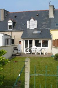 Photo for house with garden in the city center between the port and shops.