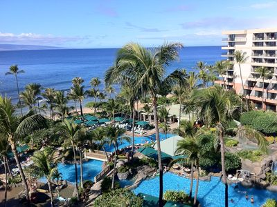 Photo for Maui Ocean Club Deluxe Oceanfront Villa in the Lanaina or Napili Tower