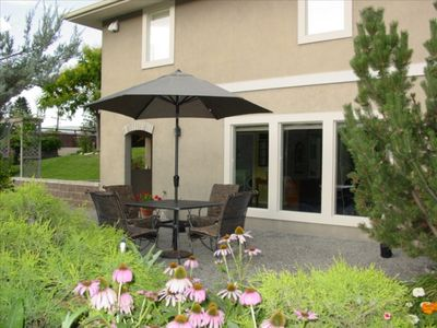 Private Patio with Private Entrance