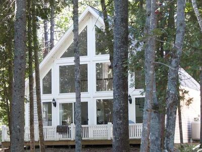 Photo for Dog Friendly Lakefront Cottage in downeast ME - September price lowered!