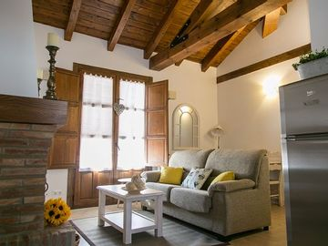 Rural apartment La Posada for 14 people