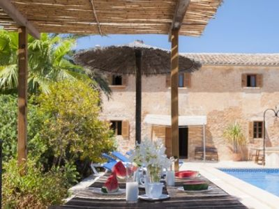 Photo for 6 bedroom Villa, sleeps 12 in Cas Concos with Pool, Air Con and WiFi