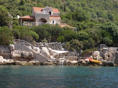 Photo for Villa Tica by the sea near Dubrovnik