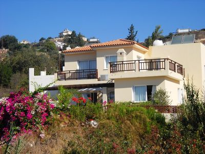Photo for Family Friendly - Modern 3 Bedroom Villa, Quiet Village, Paphos,  FREE Wi-FI
