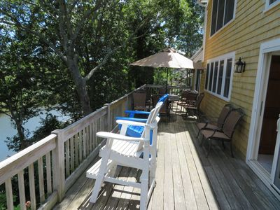 Photo for Gorgeous Multi Family Waterfront, Private Dock, Hot Tub/Sauna, Full Apartment